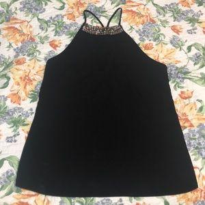 Classy diamond neck blouse